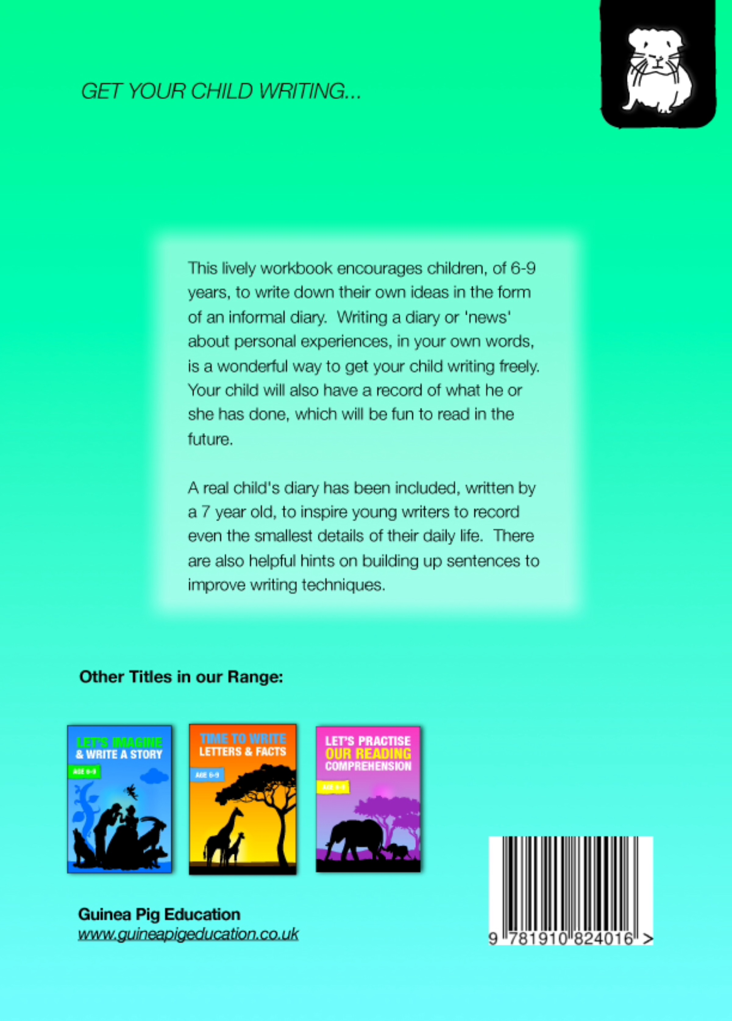 Time To Write A Diary (Time To Read & Write series) (6-9) Print Version
