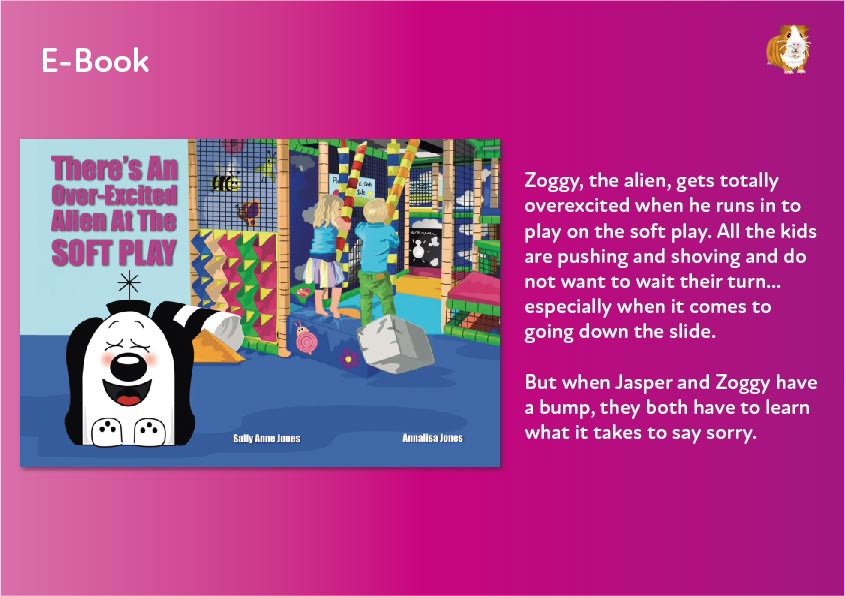 There's An Over-Excited Alien At Soft Play E-book