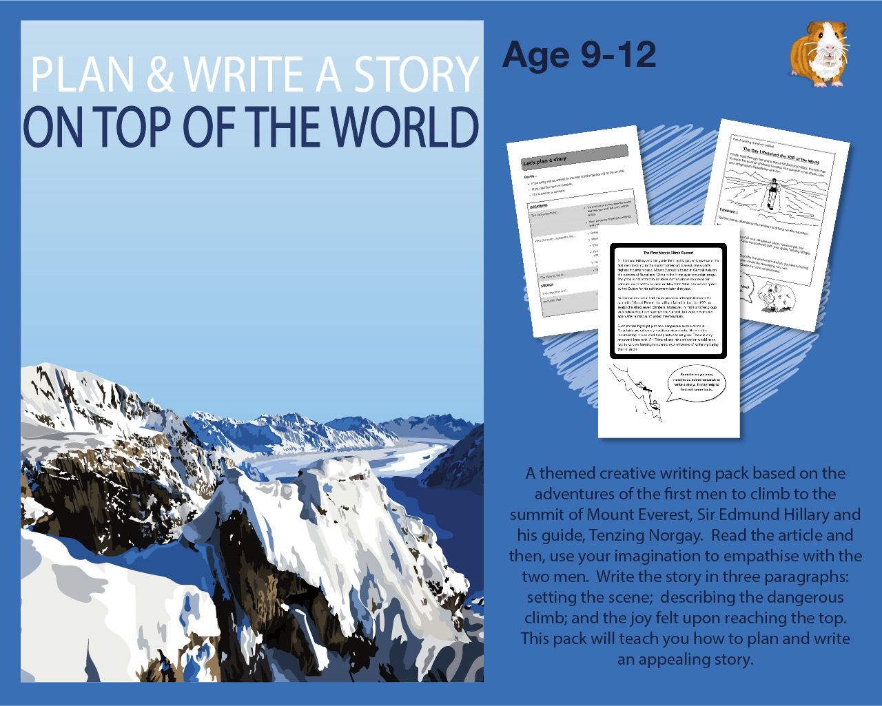 Plan And Write A Story About The First Men To Climb Everest (9-13 years)