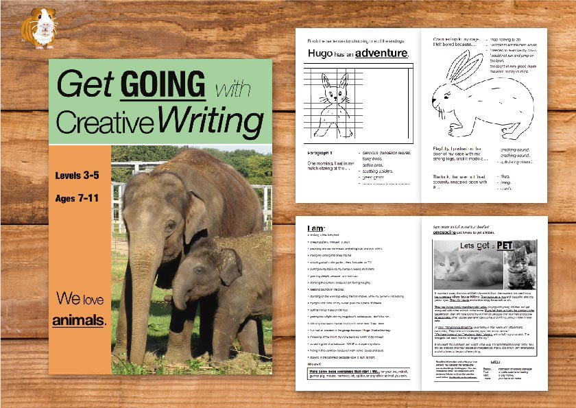 We Love Animals: Get Going With Creative Writing (and other forms of writing) (7-11) Print Version