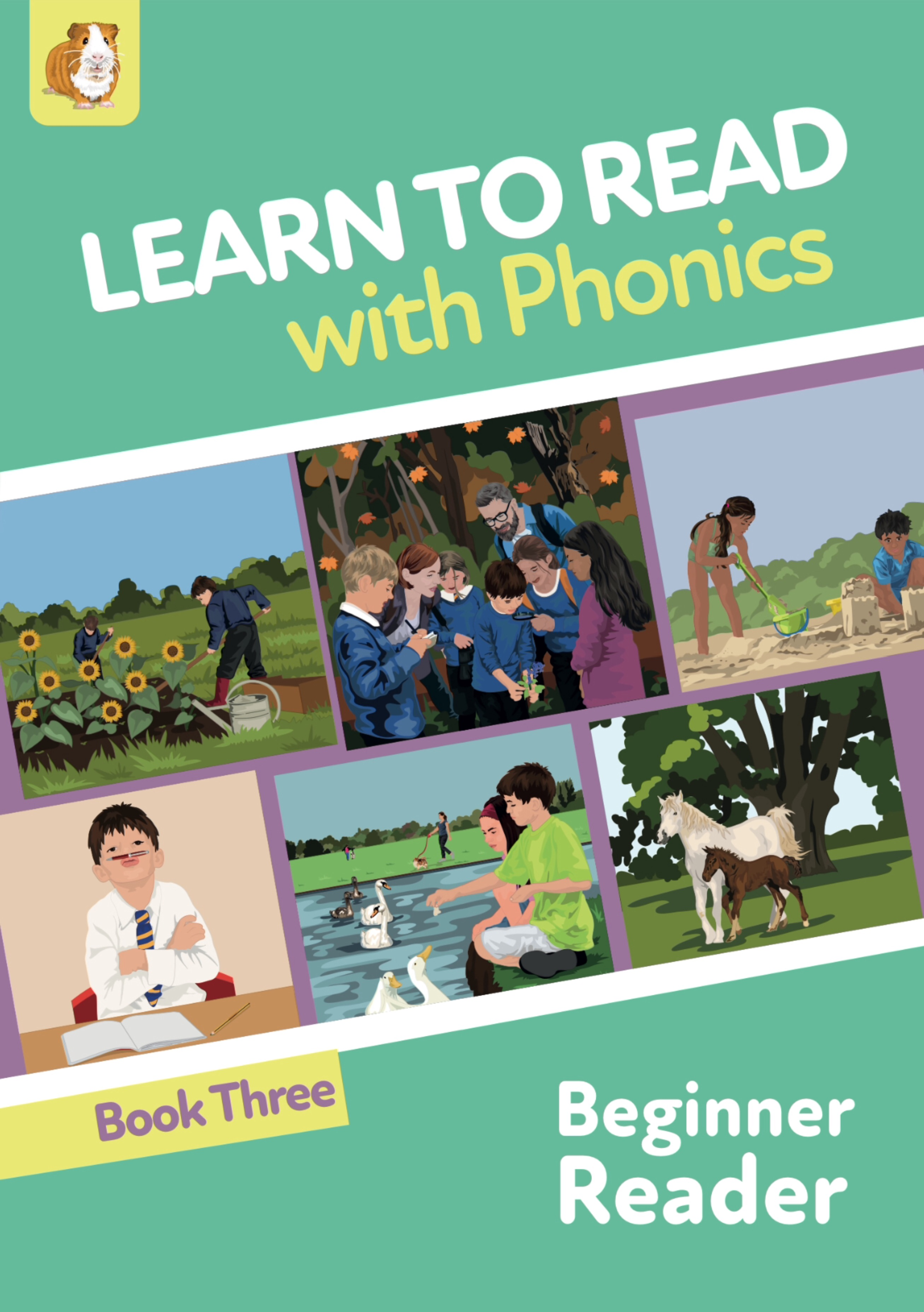 Learn To Read Rapidly With Phonics: Beginner Reader Book 3: Digital Download