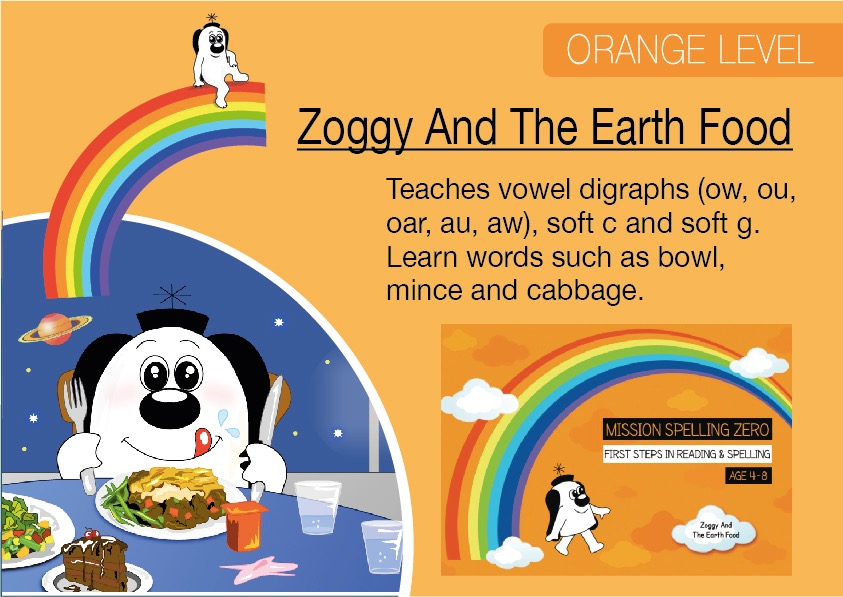 Zoggy And The Earth Food (E-book)