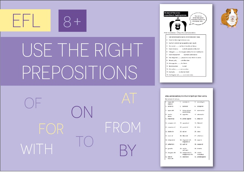Use The Right Prepositions In English (EFL/ESL) (8+)