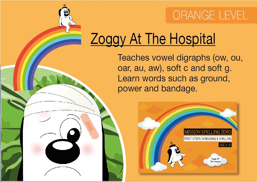 Zoggy At The Hospital  (E-book)