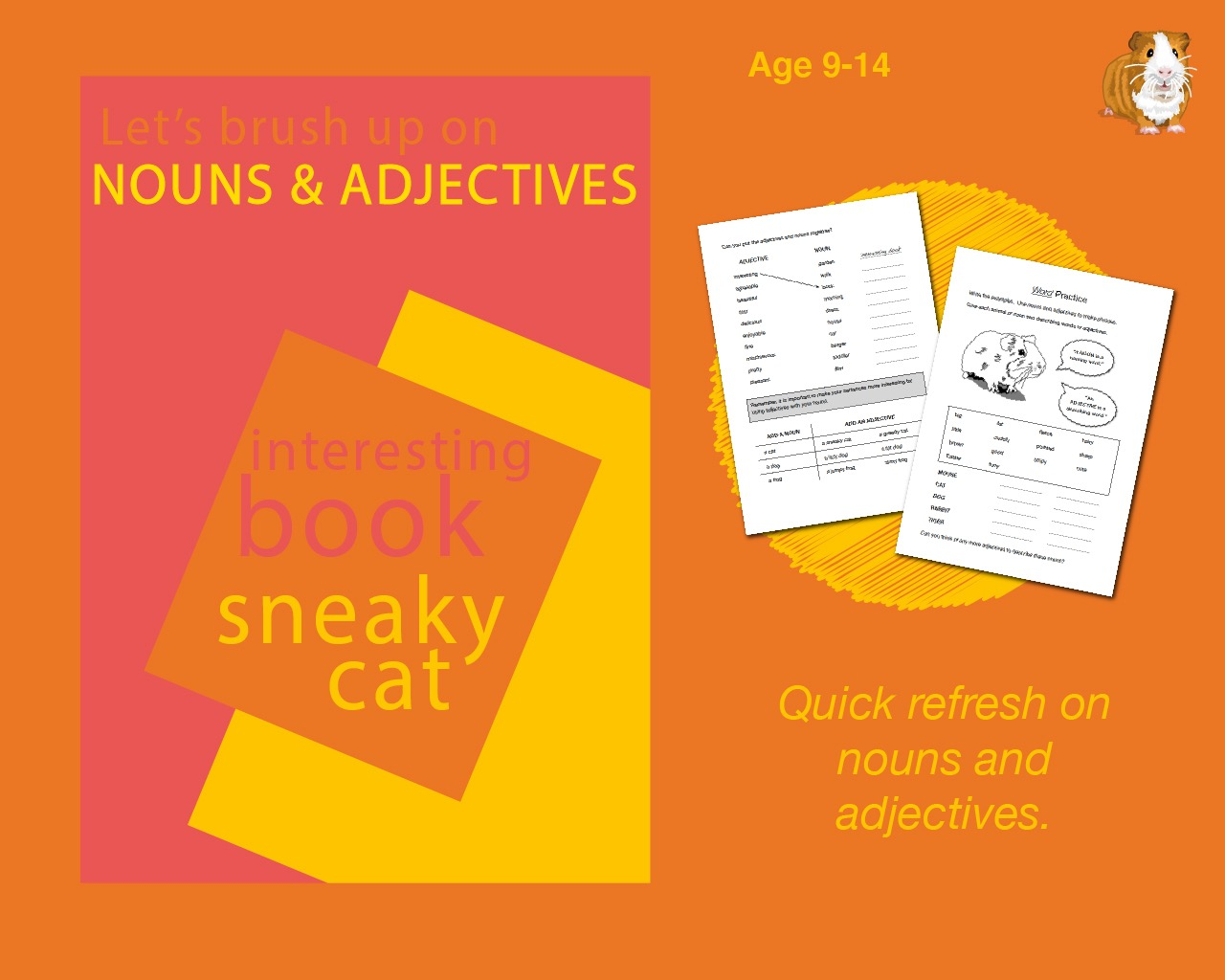 Using Nouns And Adjectives (9-14 years)