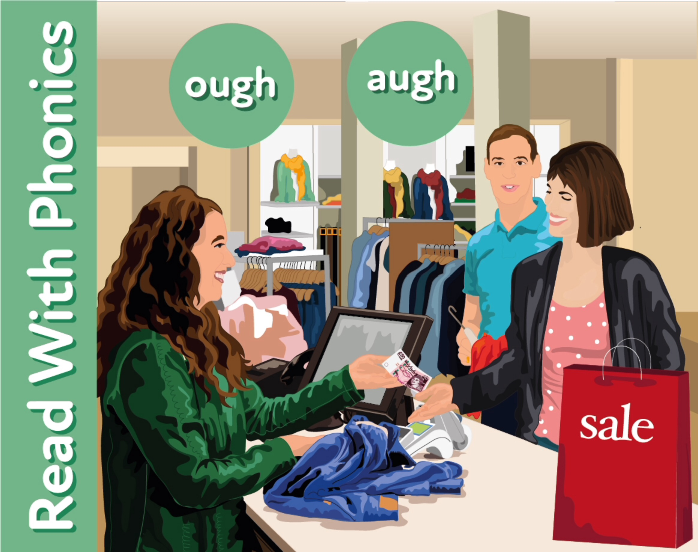 The Summer Sales: Learn The Phonic Sound 'ough'