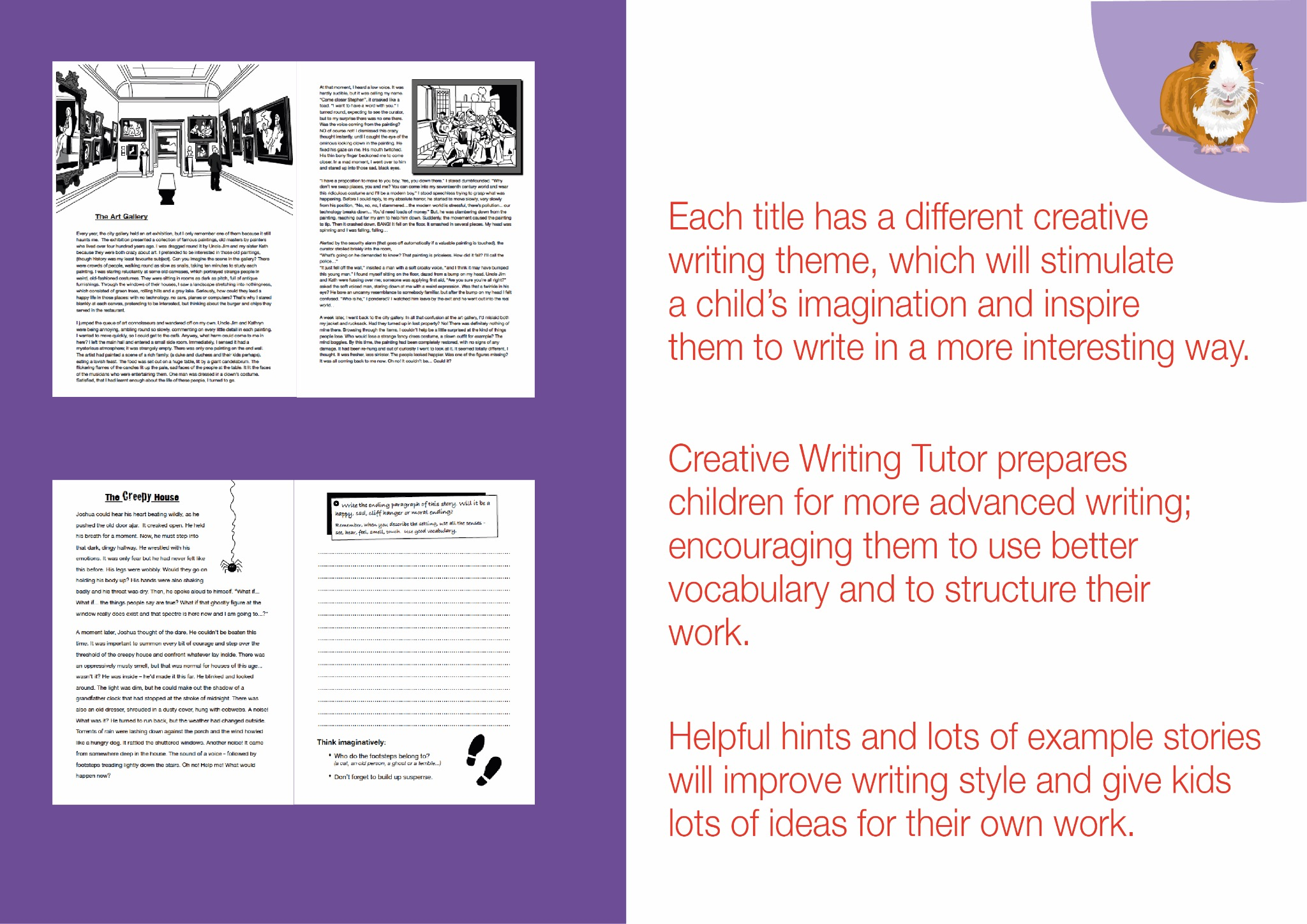 The Art Gallery: Brush Up On Your Writing Skills (Creative Writing Tutor) (ages 9-13 years)
