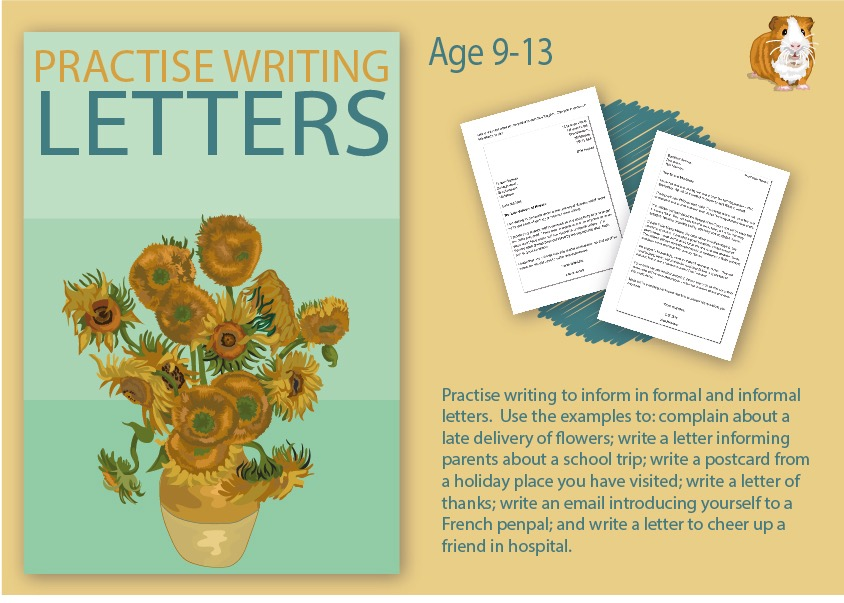 Practise Writing A Letter (9-14 years)