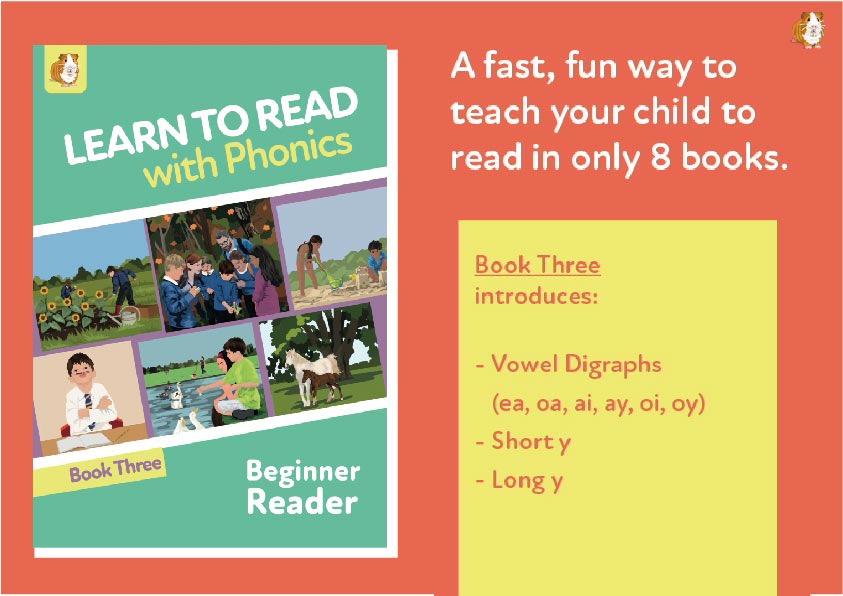 5. Learn To Read With Phonics | Beginner Reader Book 3 | Digital Download