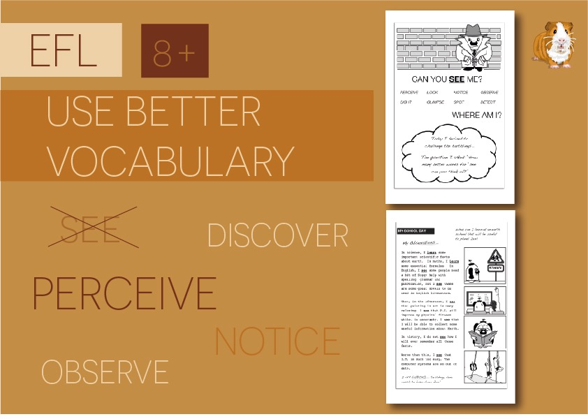 Use Better Vocabulary In Your Writing - Replace The Word See (8+)