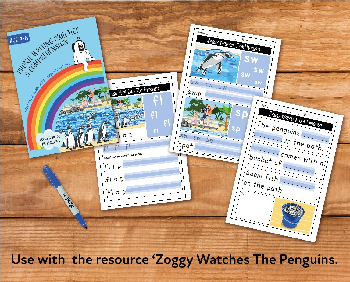Zoggy Watches The Penguins (E-book)
