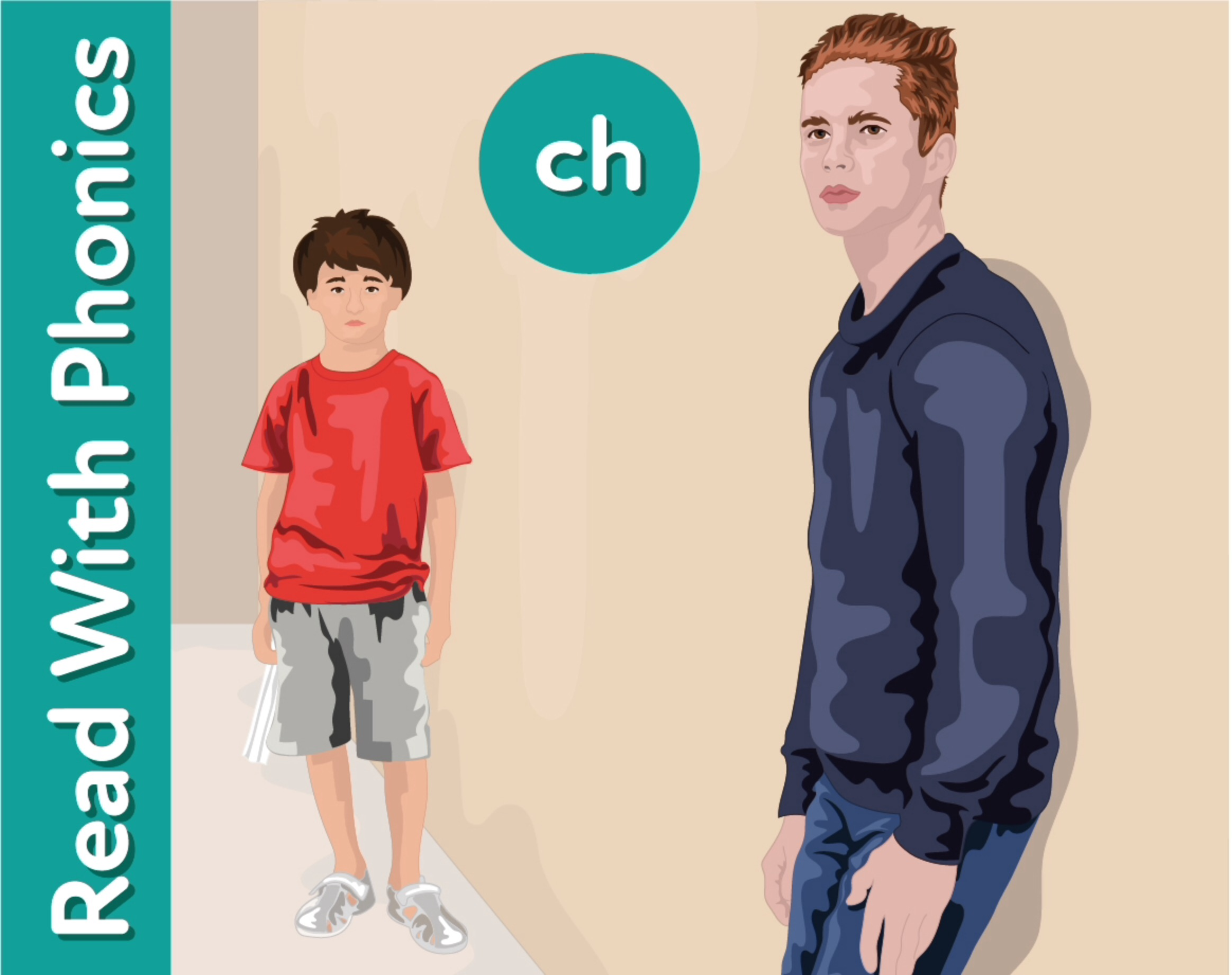 My Famous Cousin The Genius: Learn The Phonic Sound 'ch'
