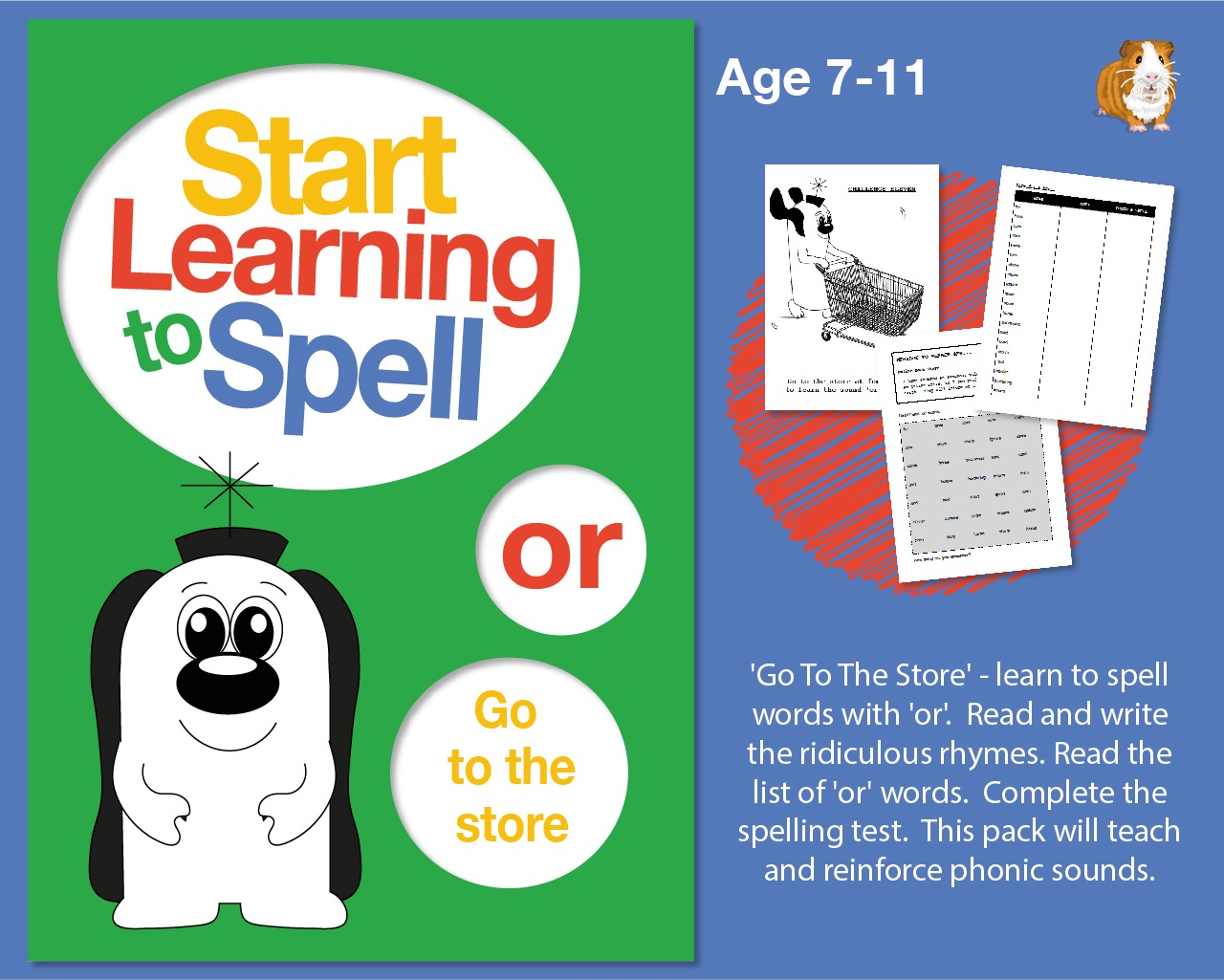 'Go To The Store' Learn To Spell Words With 'or' (7-11 years)