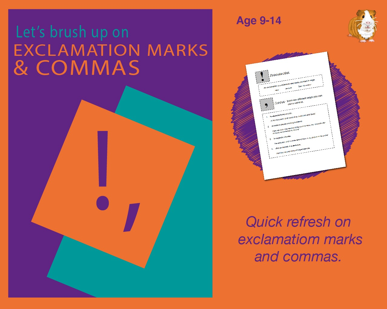 Using Exclamation Marks And Commas (9-14 years)