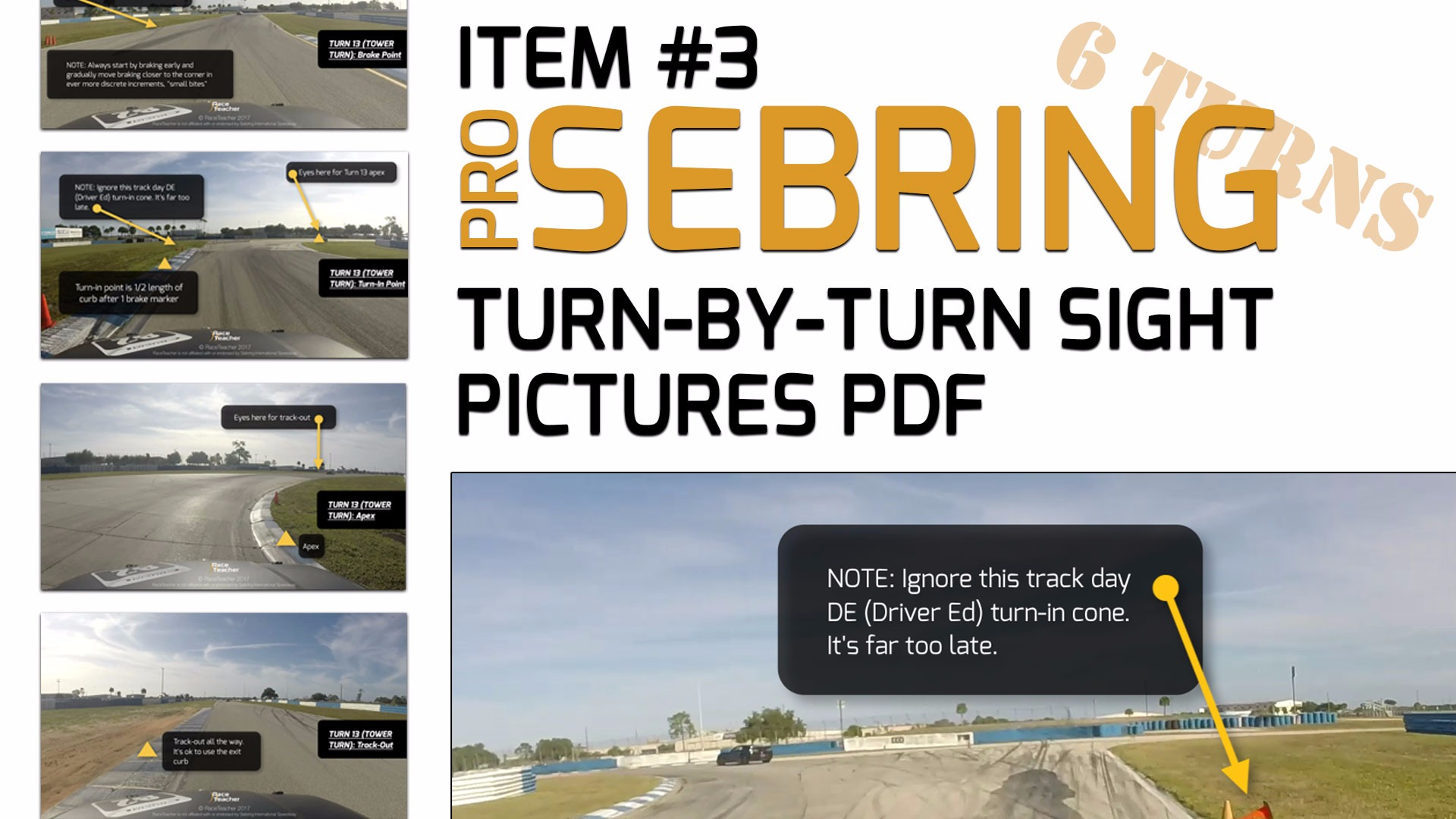 FREE (6 Turns): Real-Time Sebring HPD Track Tutorial