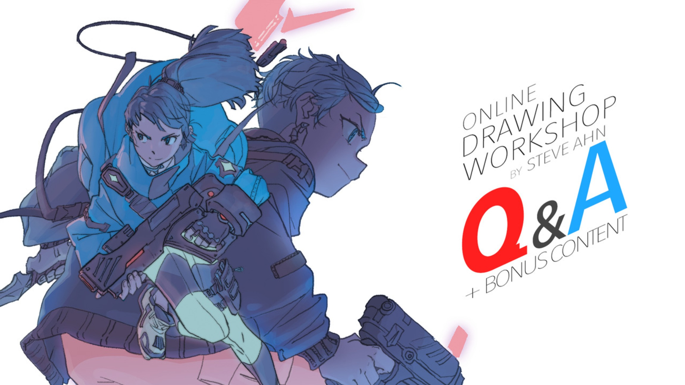 Online Drawing Workshop - 8 Hrs Additional Lecture Videos in Q&A Format