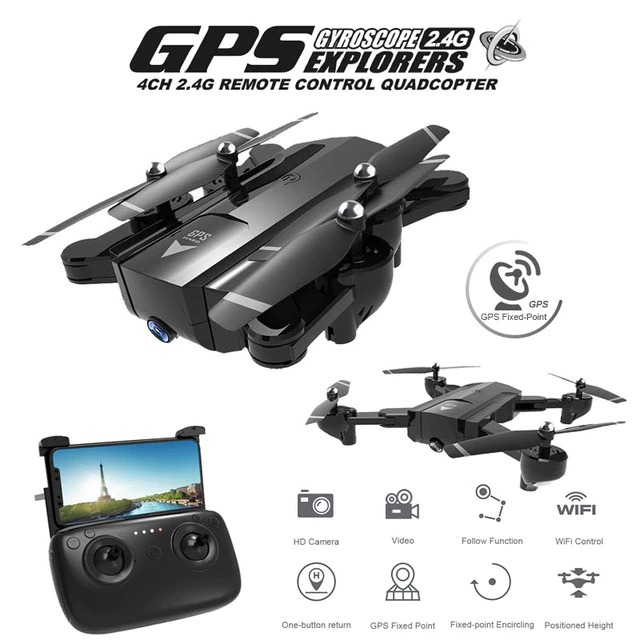 SG900S GPS Quadcopter With 720P/1080P HD Camera Rc Helicopter Auto Return WIFI FPV Drone