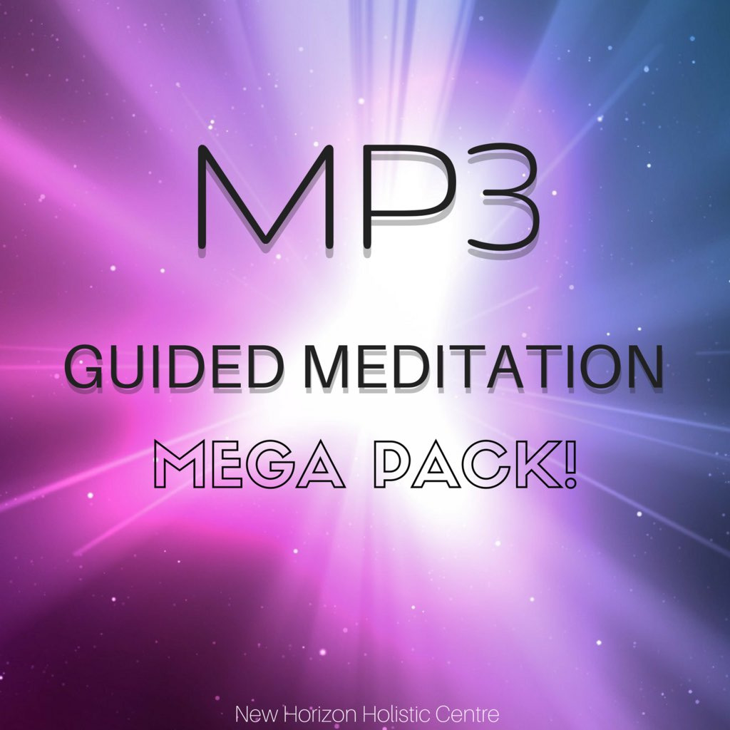 MP3 Guided Meditation Mega Pack
