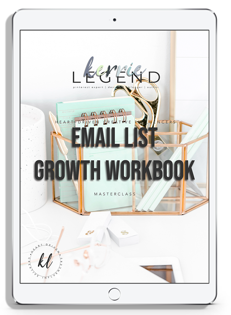 Email List Growth Workbook