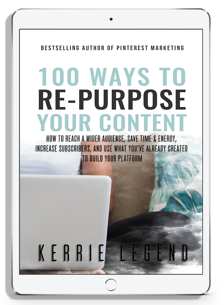 100+ Ways to Re-Purpose Your Content & Workbook
