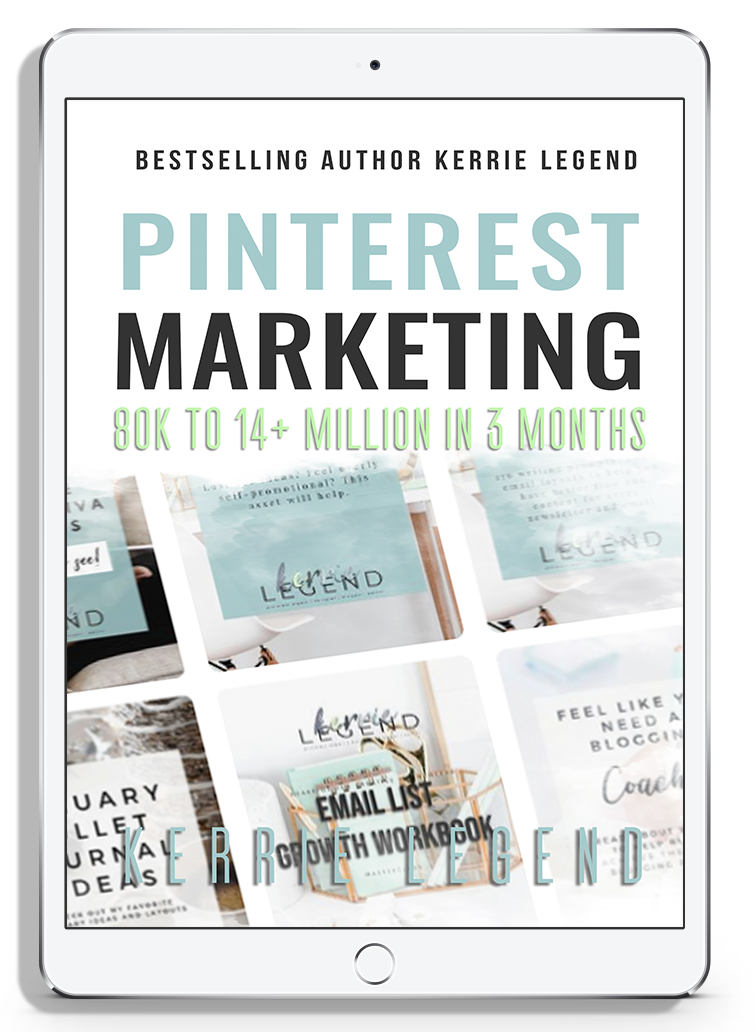 Pinterest Marketing: 80k to 14+ Million in 3 Months & Workbook