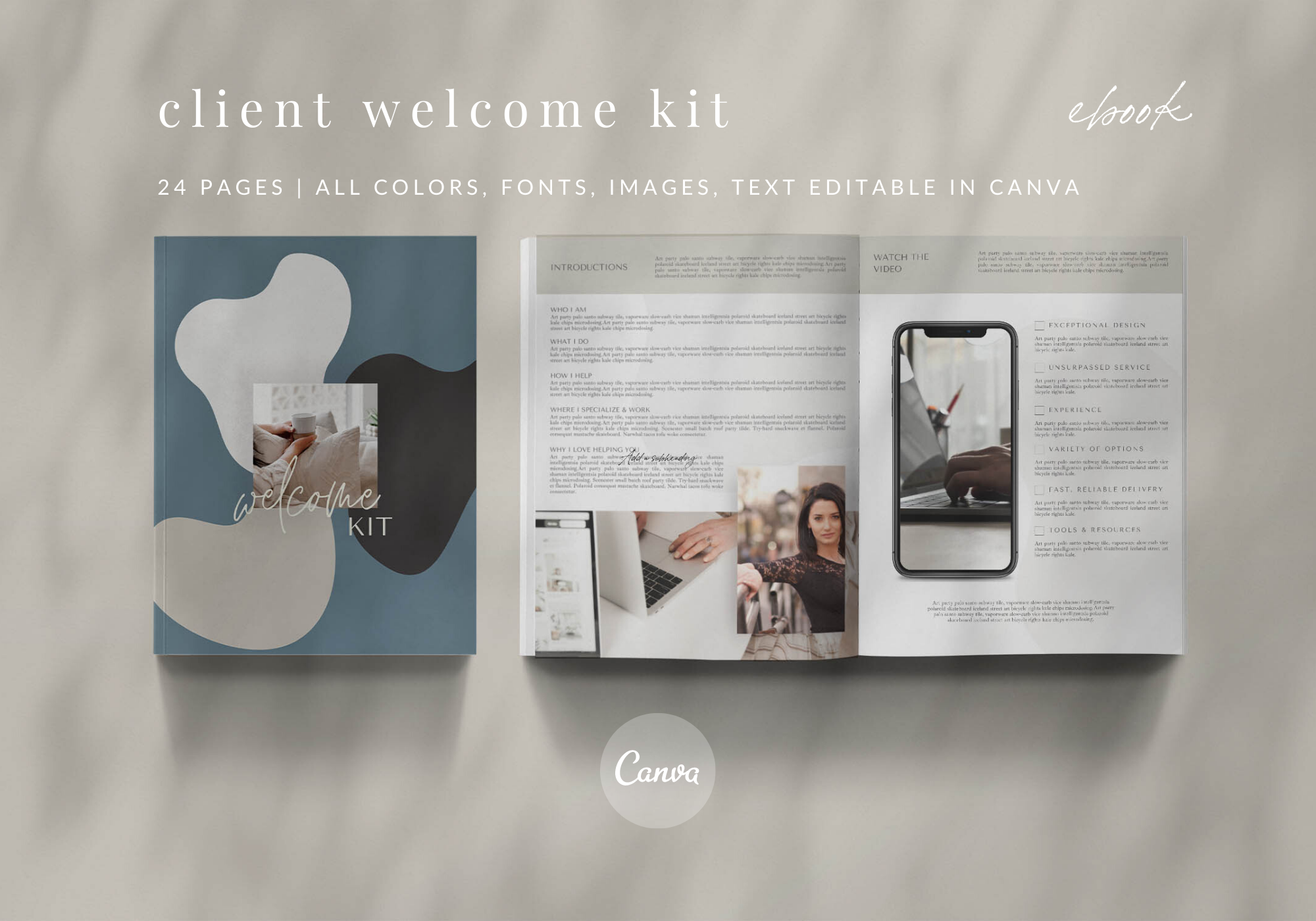 Client Welcome Kit - Lead Magnet & Tech Mockups - Part 1