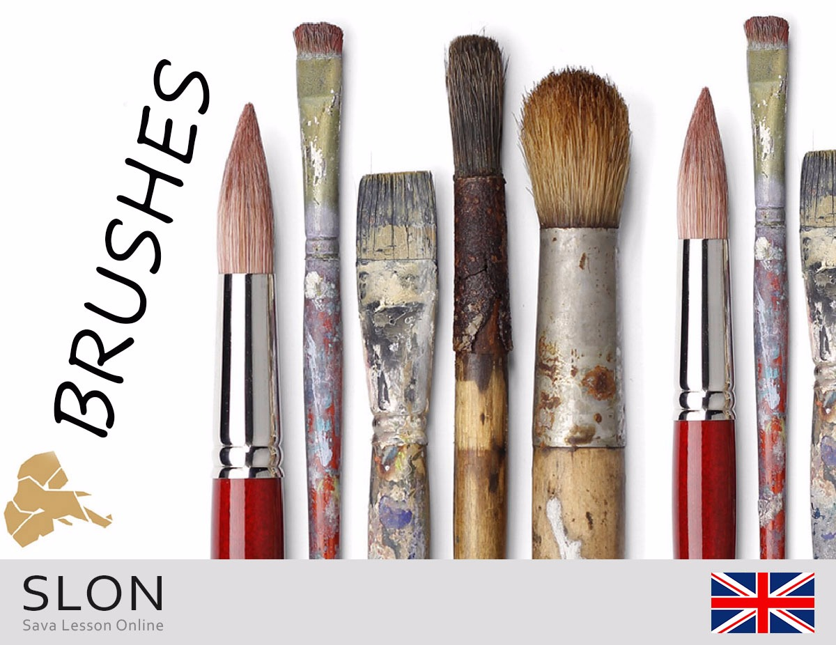 About brushes for watercolor