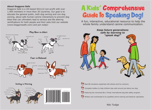USA only. BULK ORDER - 10  Copies of A Kids Comprehensive Guide To Speaking Dog - Copy