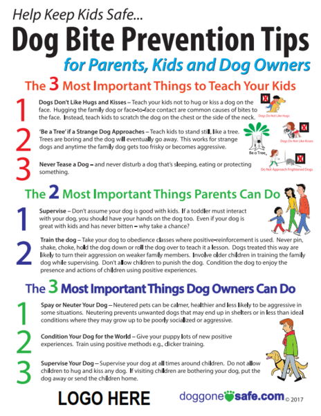 Doggone Safe Tips Flyer