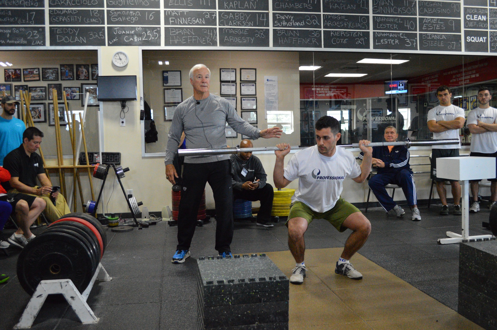 Athletic Performance Summit: The Legends Course - LAB 1 - Teaching the Squat and Olympic Lifts