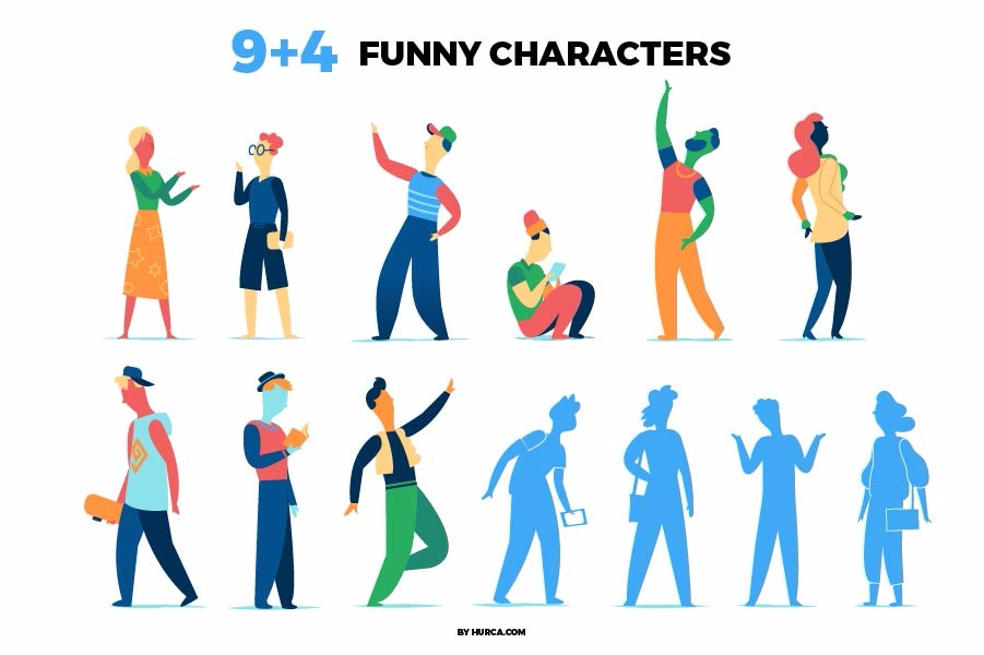 13 Funny Characters
