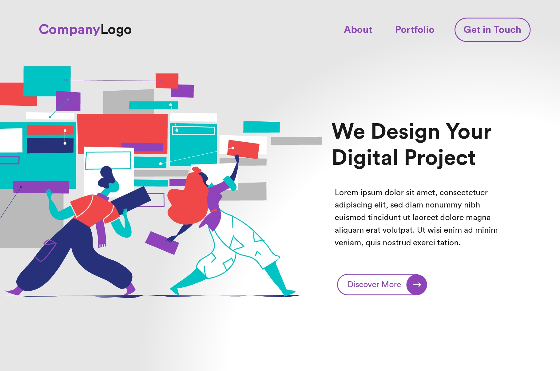 Digital Startup  - Homepage Templates Bundle