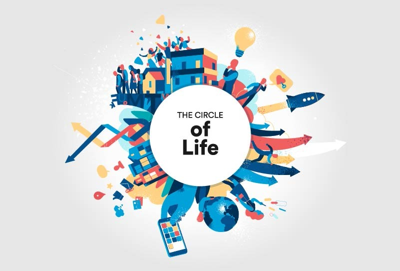 The Circle of Contemporary Life