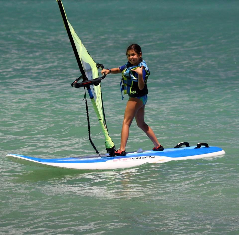 Windsurfing with Alan Cadiz - Level 1+2: Discover Windsurfing