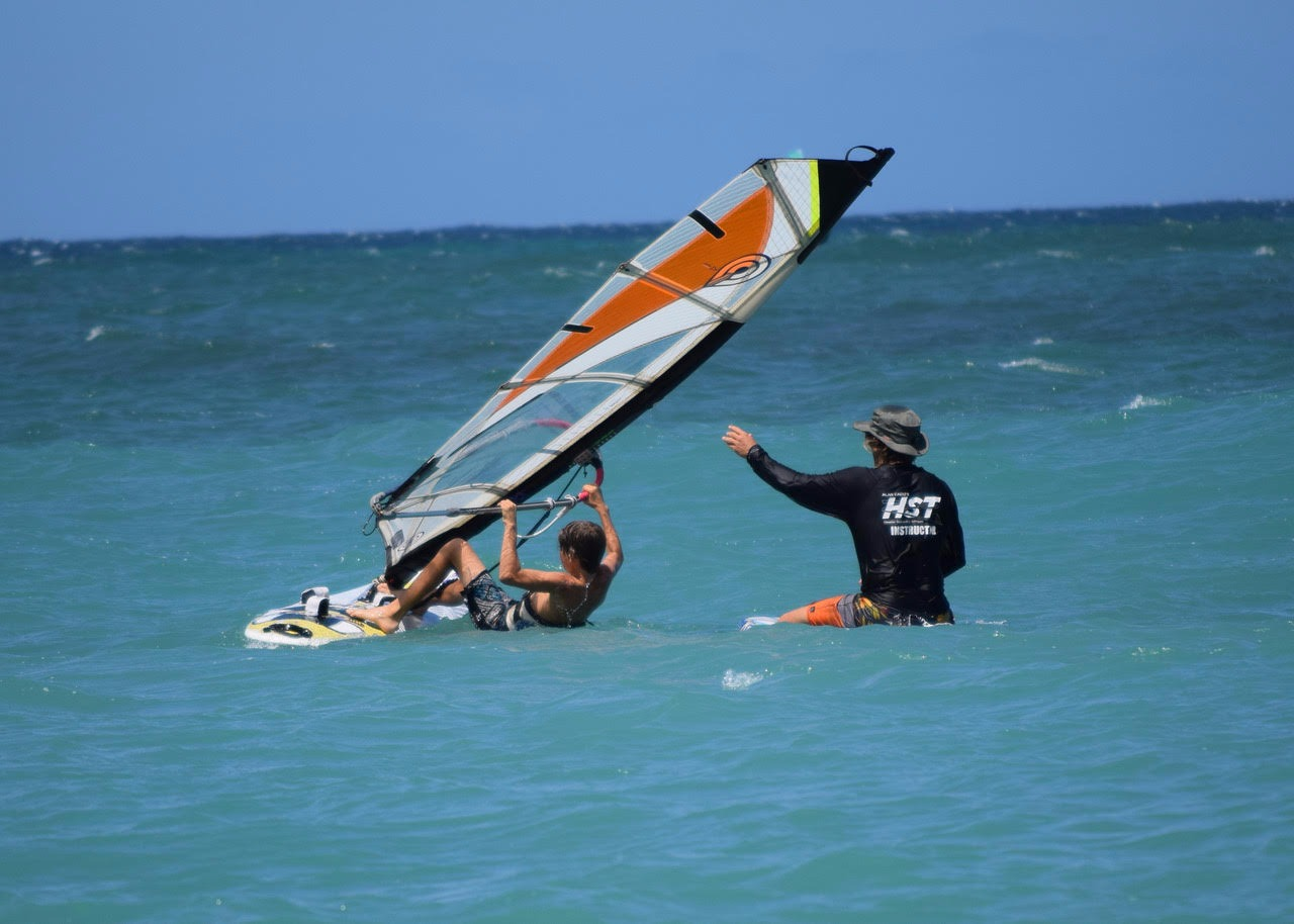 Windsurfing with Alan Cadiz - Level 3: Waterstarting