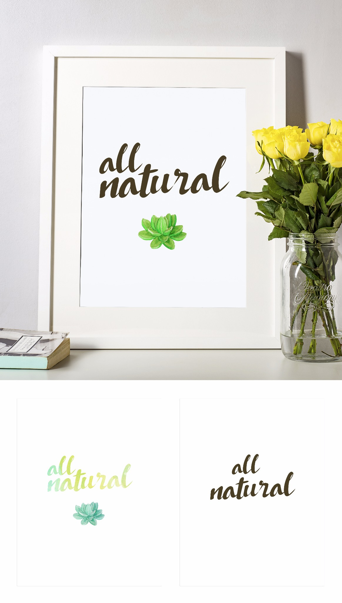 All Natural Printable