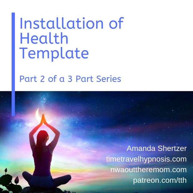 Health Template Hypnosis Audio