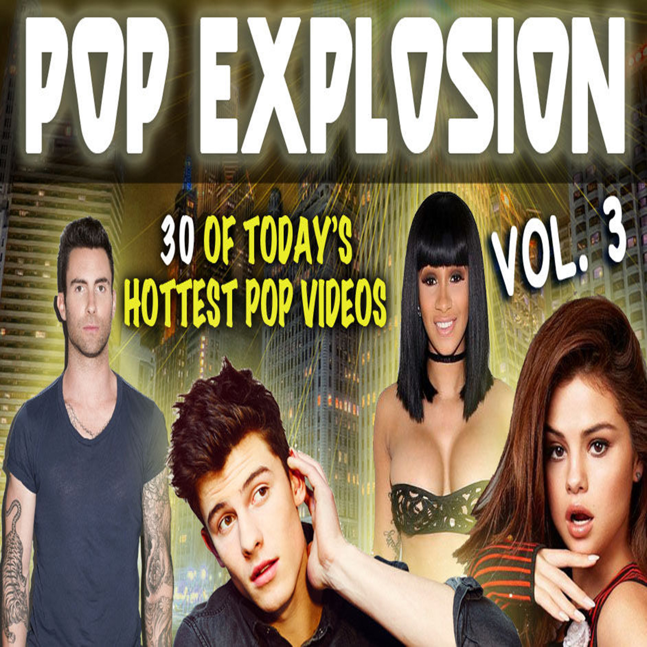 Pop Explosion Vol. 3 - Music Video Collection MP4 Videos