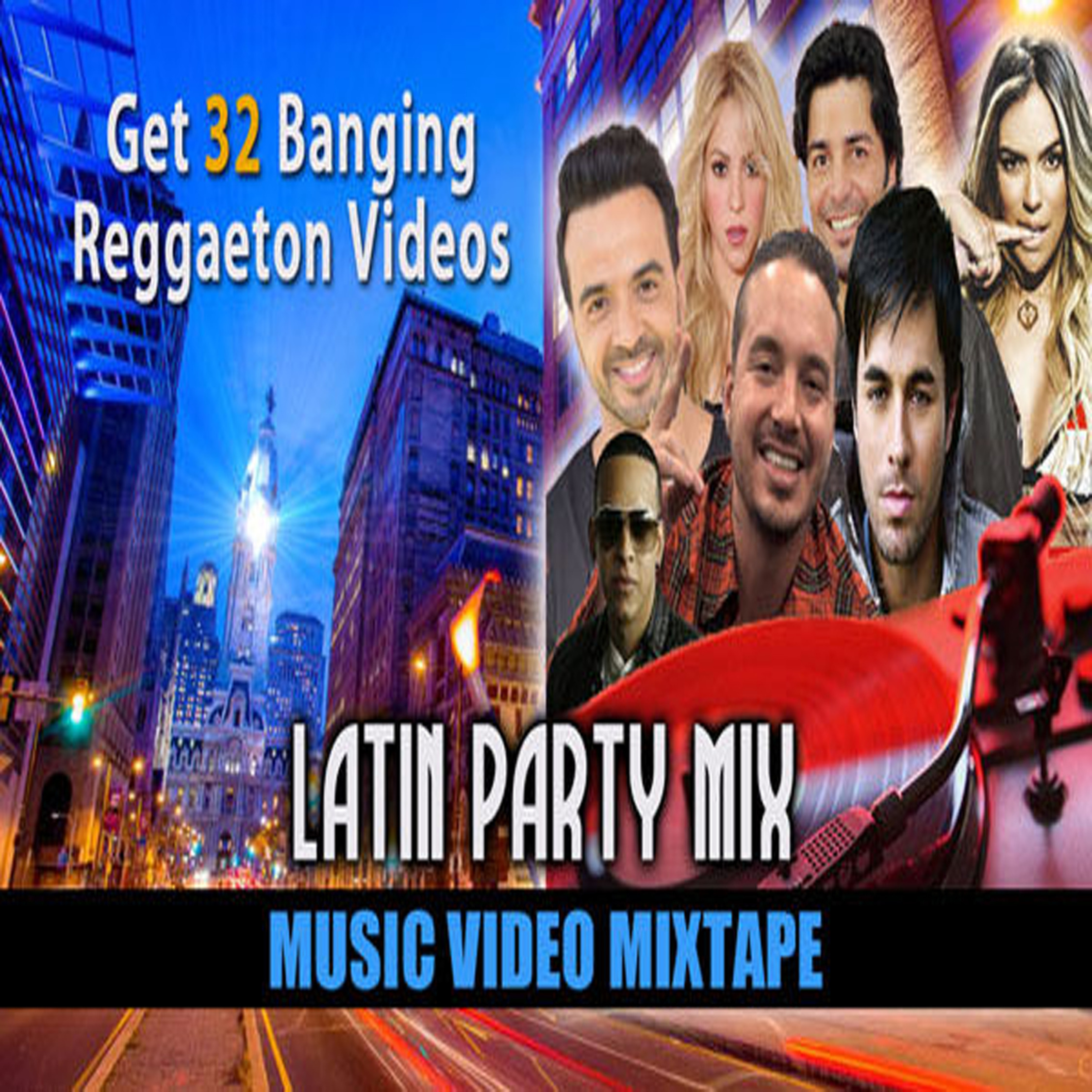 Latin Party Mix: Vol. 1 - Music Videos MP4