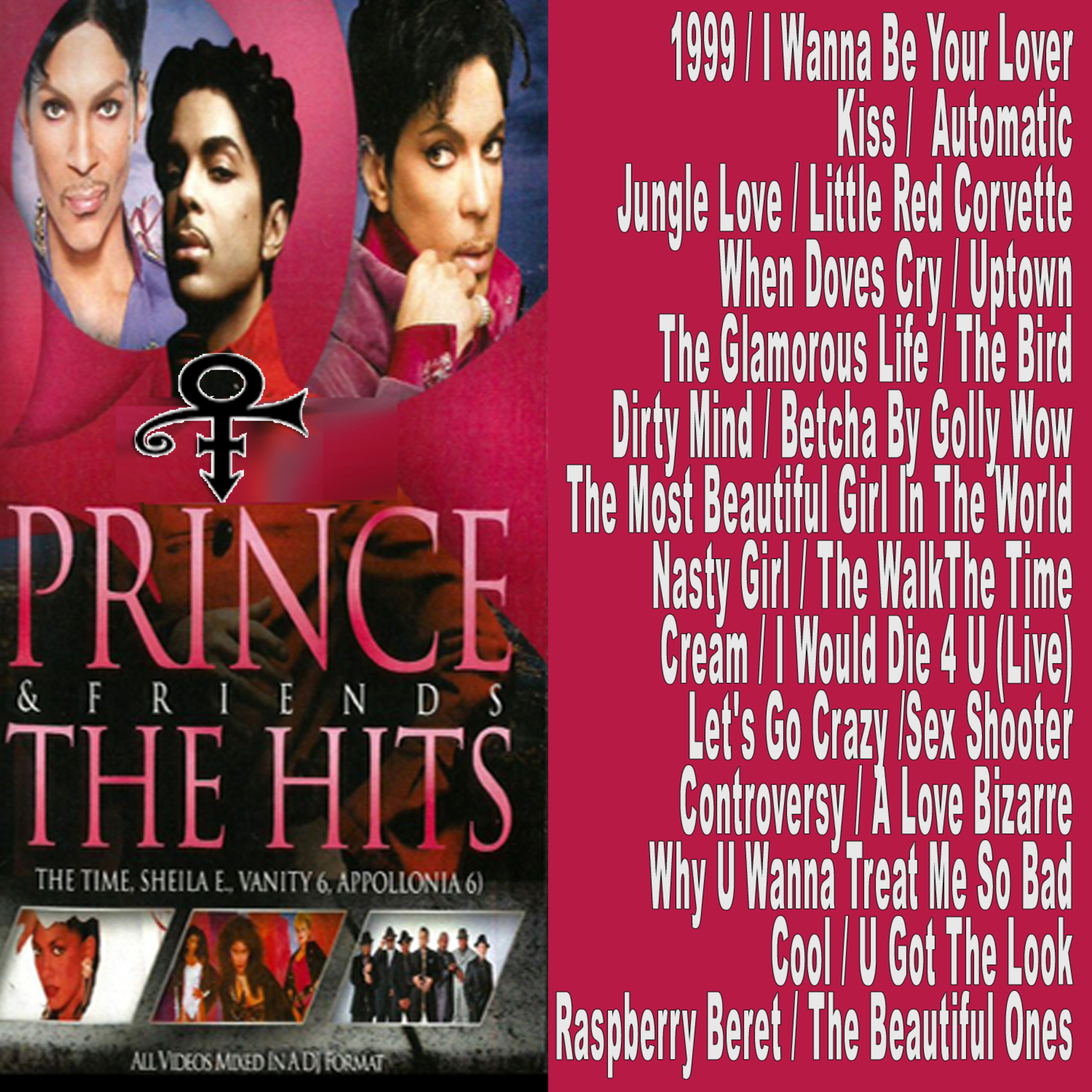 Best Of Prince & Friends - THE HITS Collection MP4