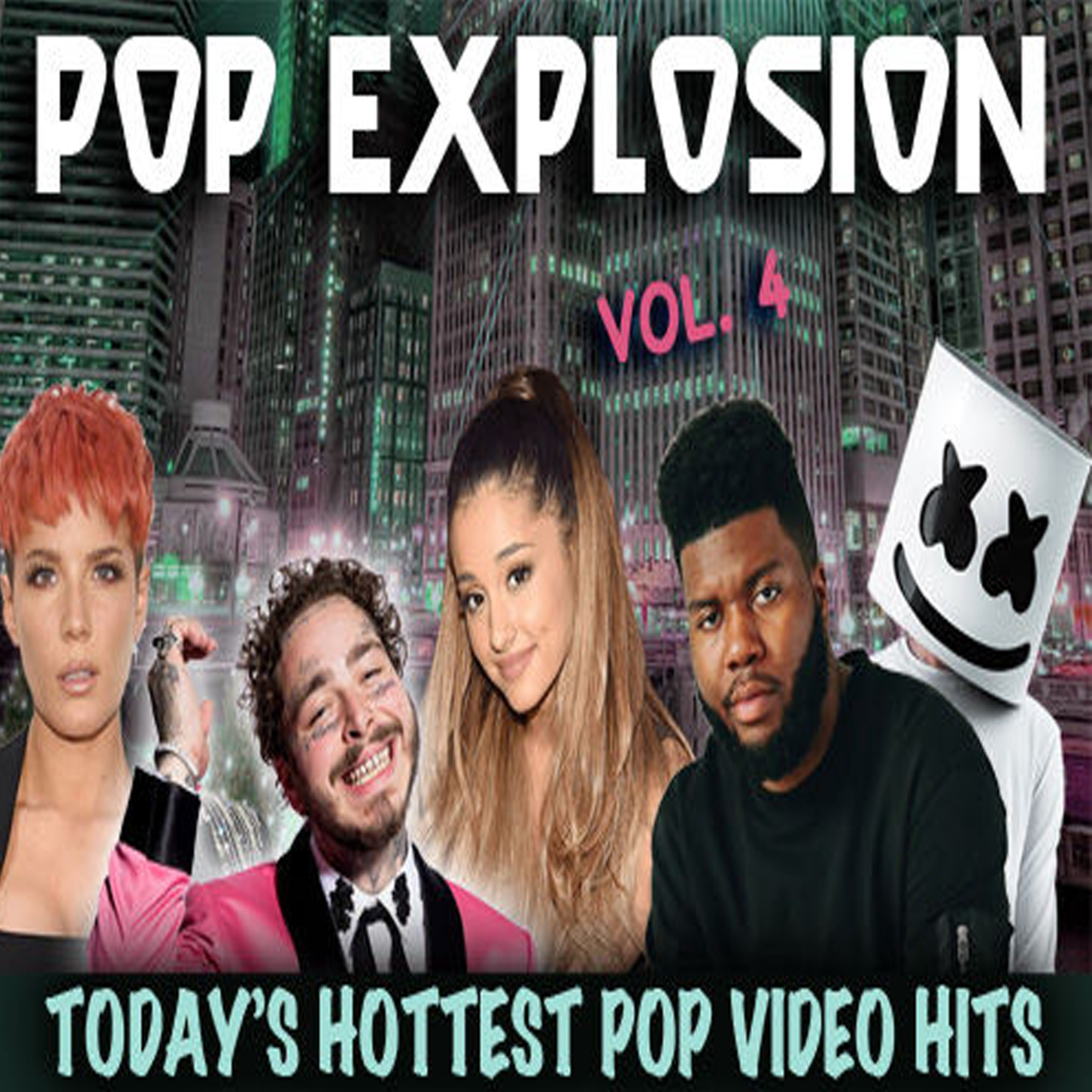Pop Explosion Vol. 4 - Music Video Collection MP4 Videos