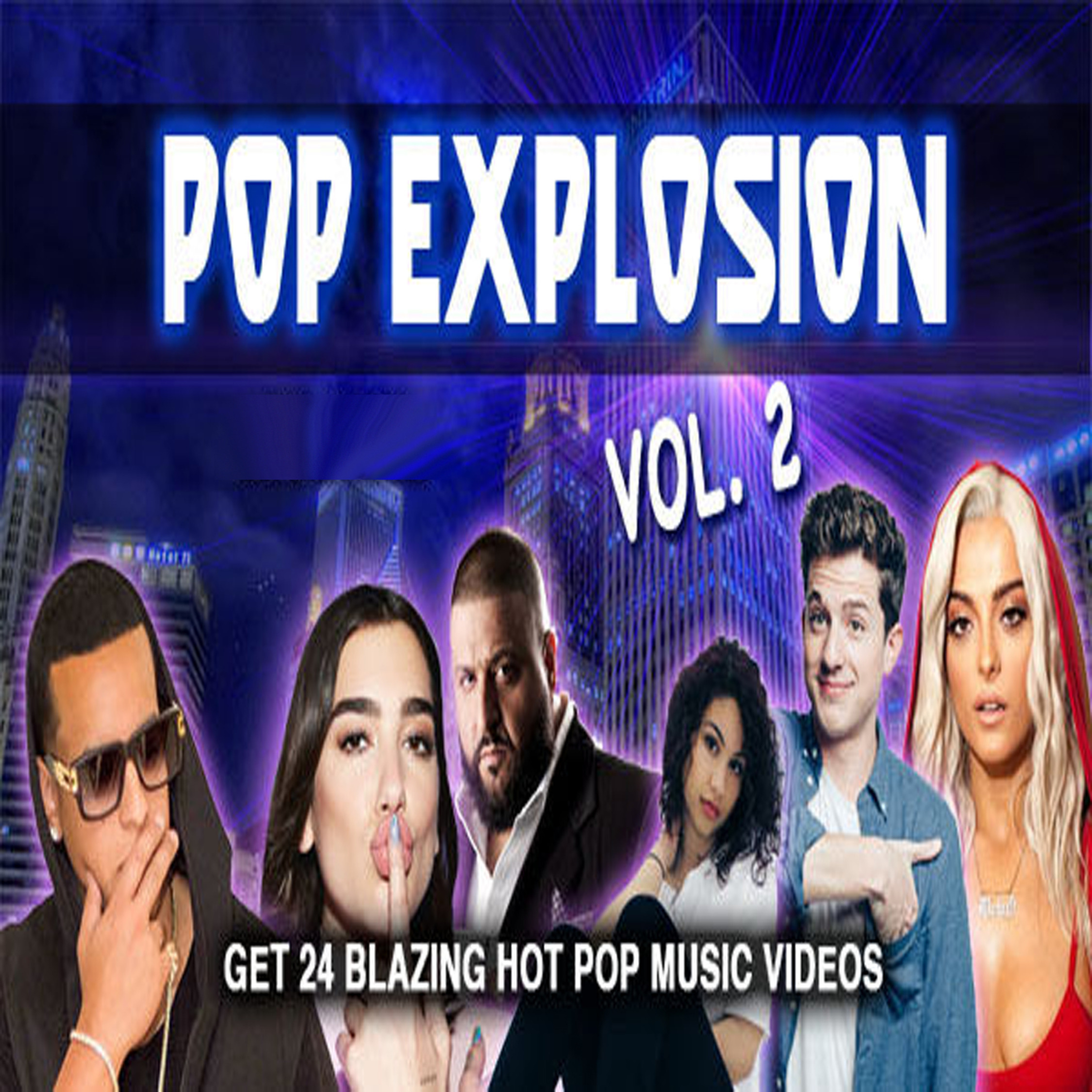 Pop Explosion Vol. 2 - Music Video Collection MP4 Videos