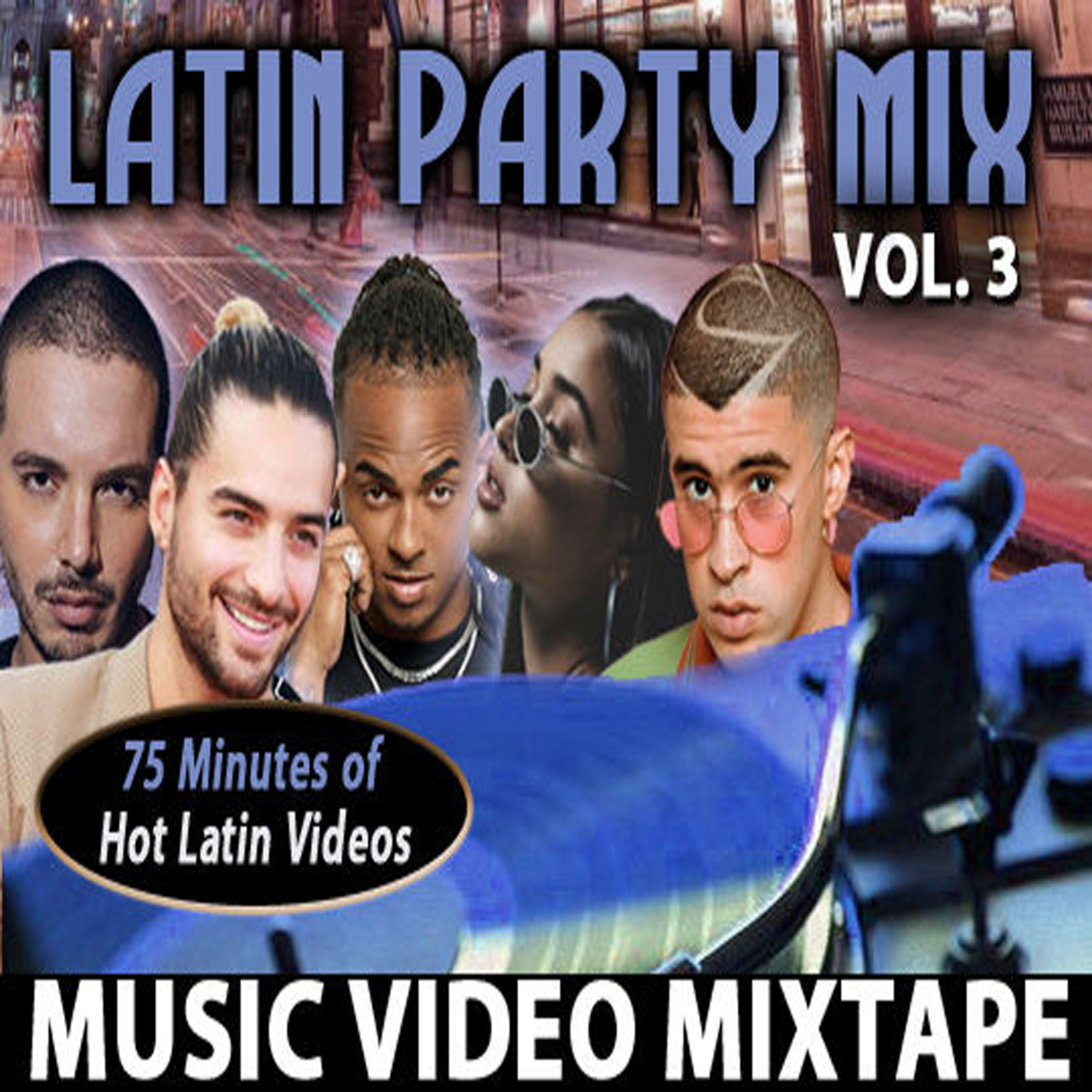 Latin Party Mix: Vol. 3 - Music Videos MP4