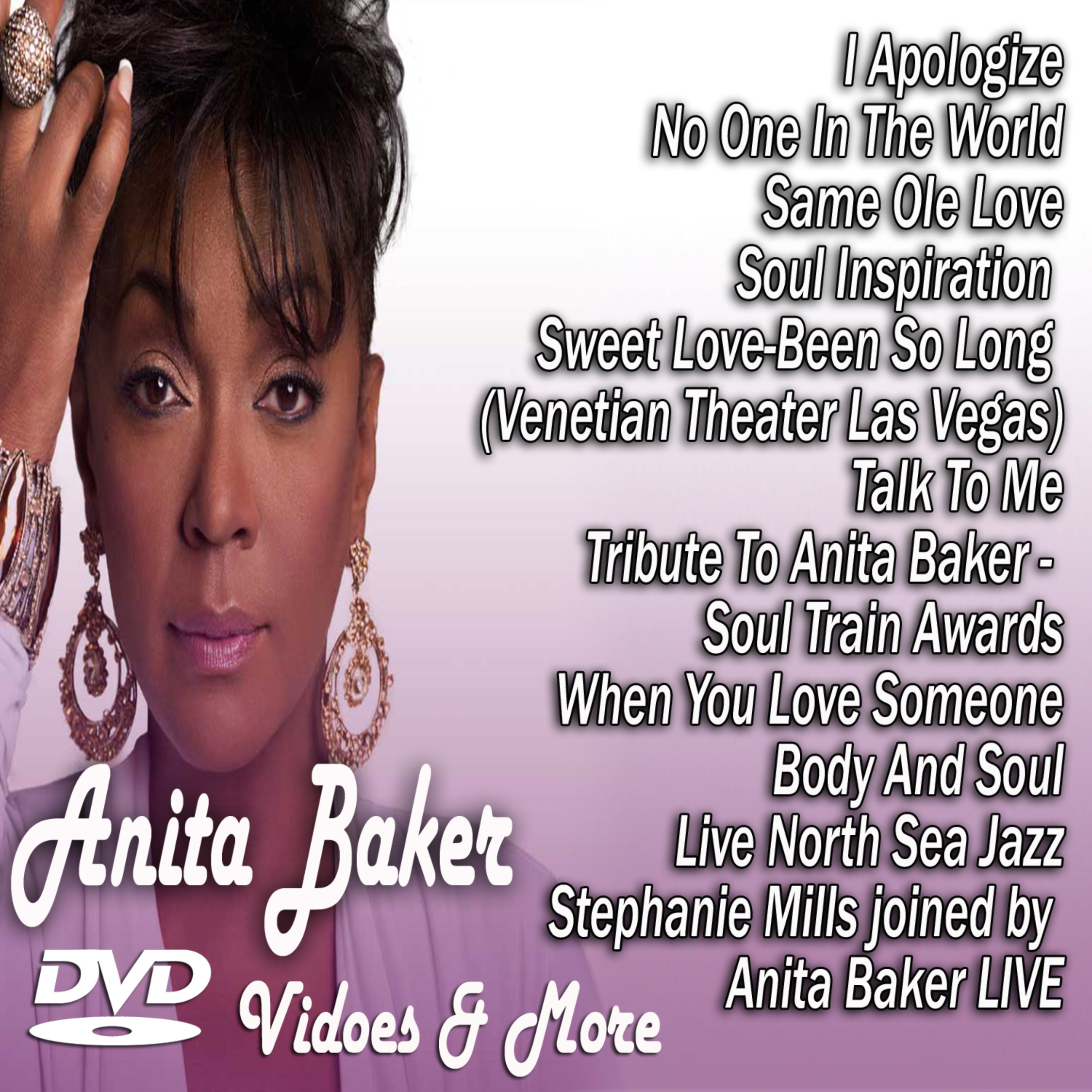 ANITA BAKER CLASSICS - Music Video Collection MP4