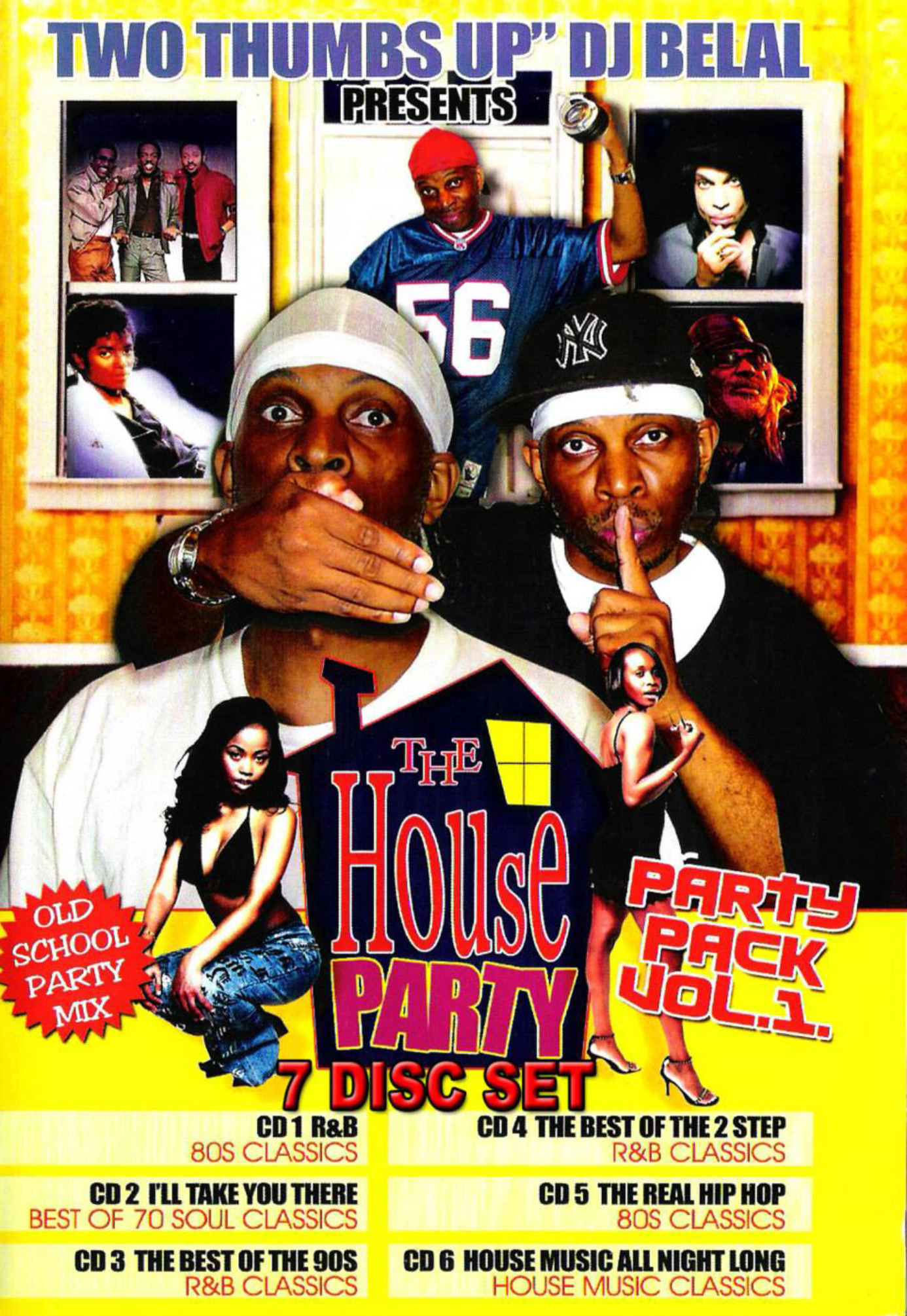 Old School House Party Mix 4 MP3 - The Legendary DJ Belal