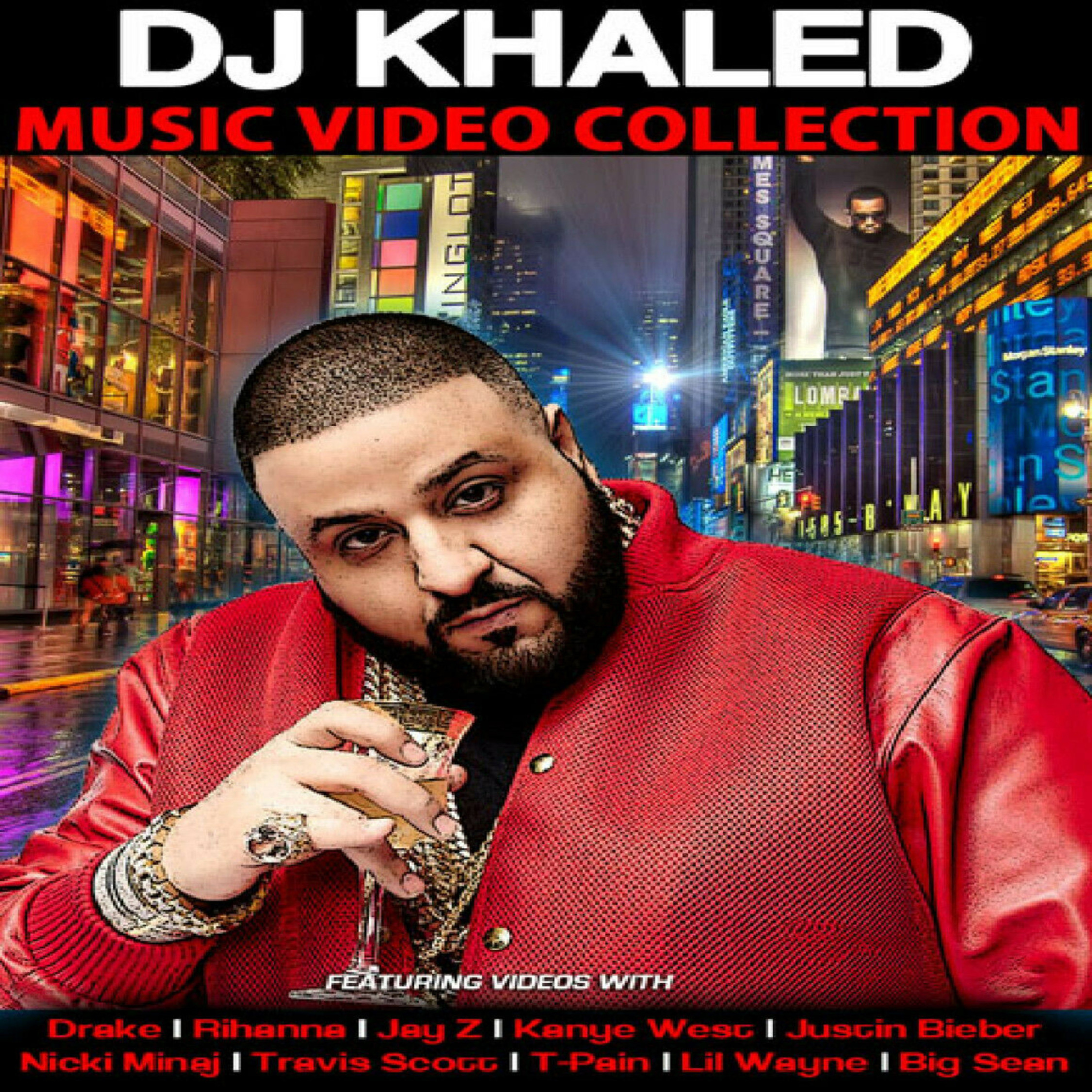 DJ KHALED - Music Video Collection MP4 Videos