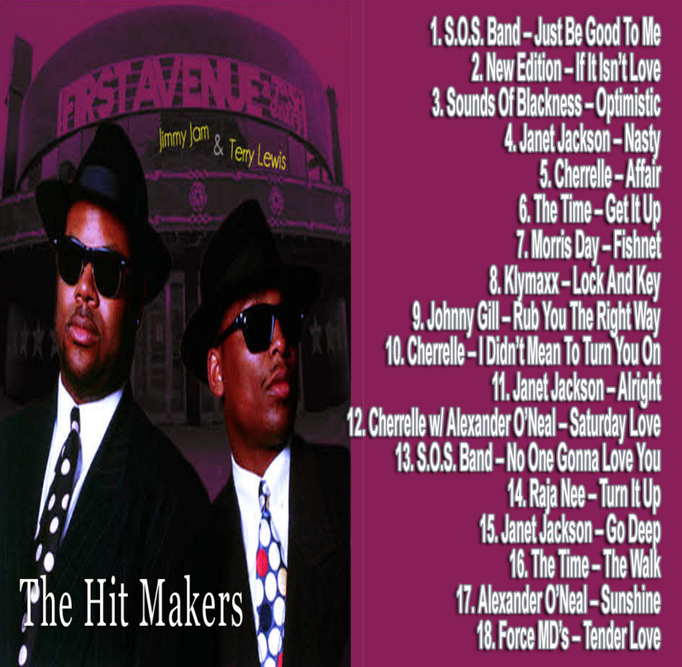 Jimmy Jam & Terry Lewis (The Producers) Mix MP3