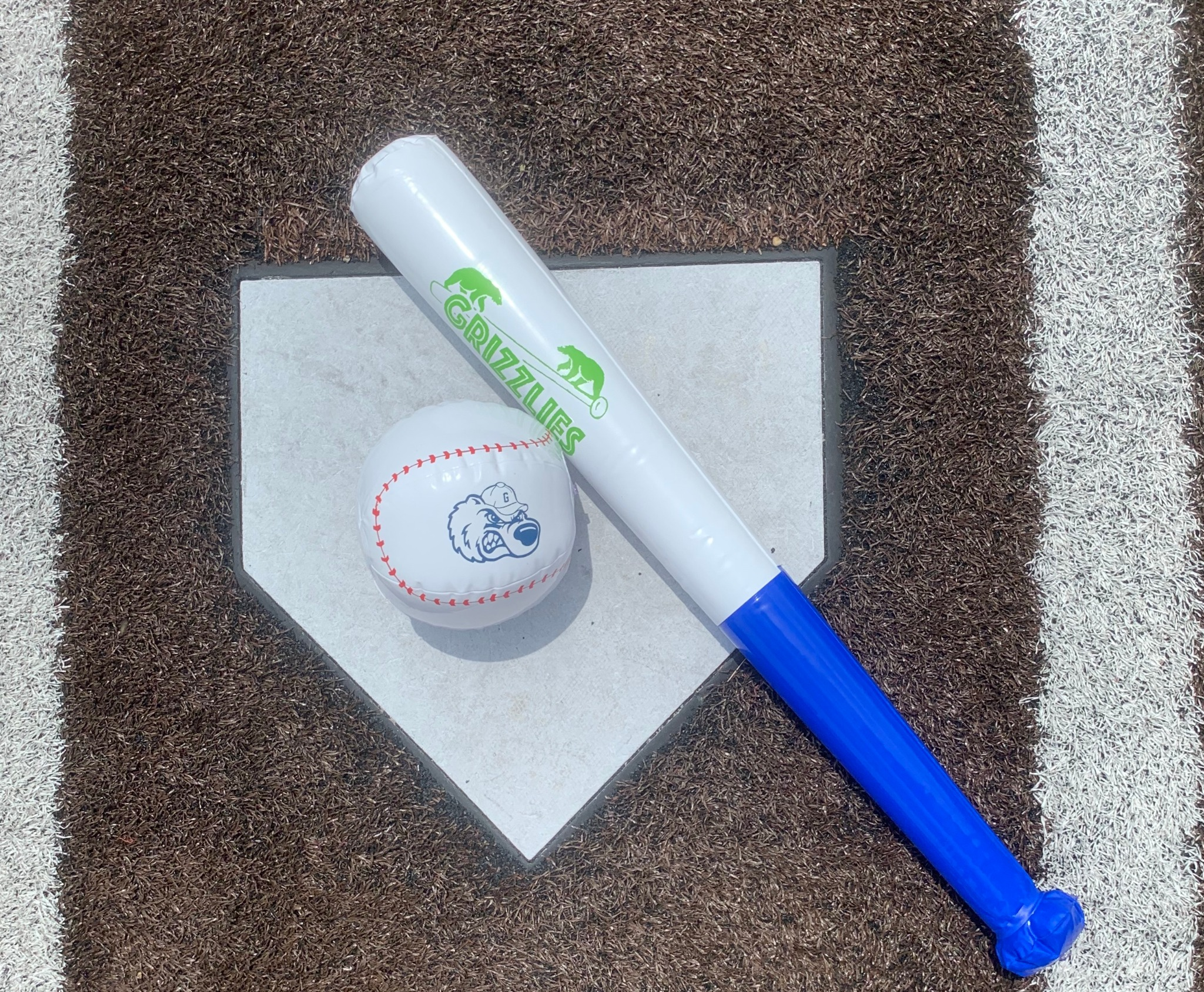 Inflatable Ball and Bat