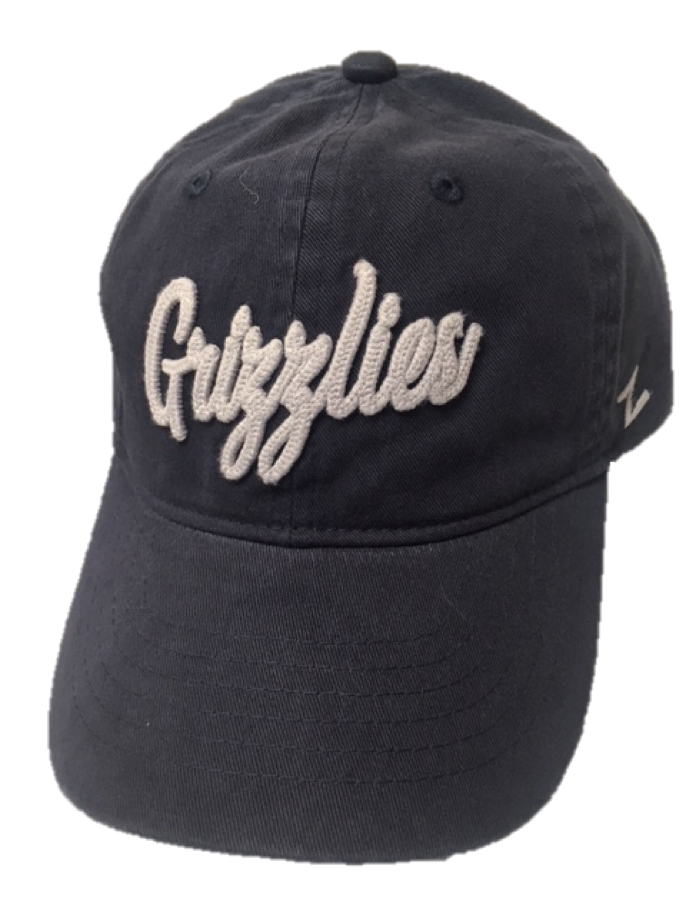 "Grizzlies ""Scroll"" Adjustable Hat"