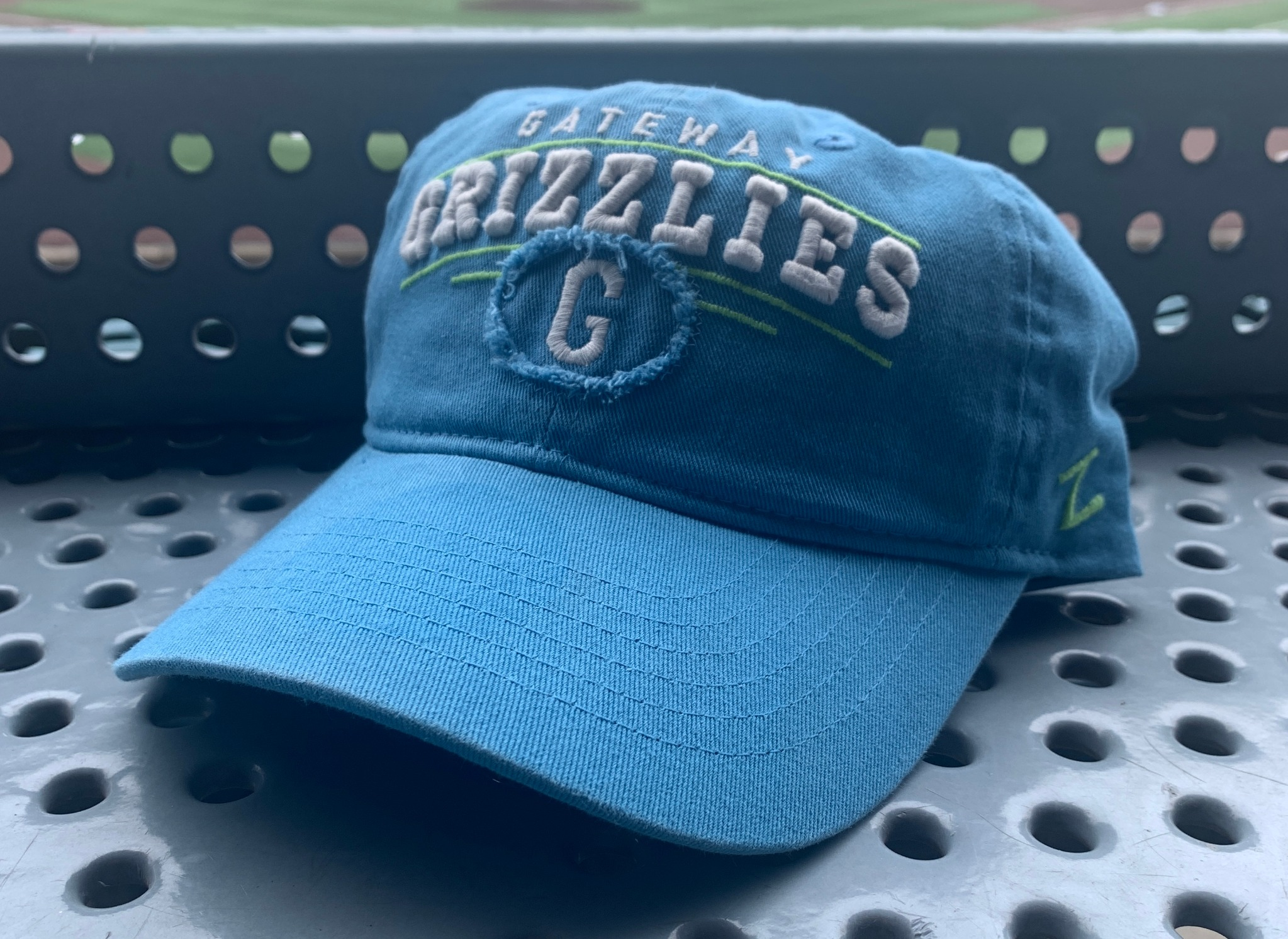 Light Blue Adjustable Hat